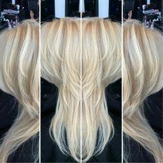 Cool baby blonde with medium ash lowlights via @karlgbrown on Instagram