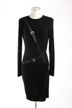 Michael Kors Runway Cross-Belt Dress via @threadflip