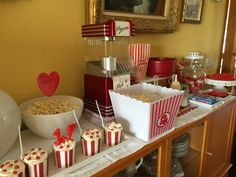 Movie Popcorn Party