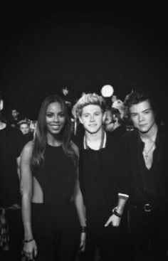 Rochelle Humes, Niall Horan and Harry Styles manip
