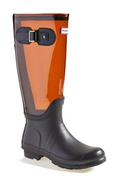 Free shipping and returns on Hunter 'Original' Clear Waterproof Rain Boot (Women) at Nordstrom.com. The iconic rubber rain boot goes modern with a see-through shaft but stays true to its roots with a classic silhouette.