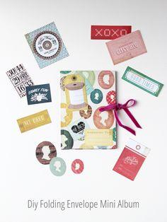 Diy Folding Envelope Mini Album