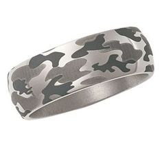 camo rings   Men's Men's Titanium Camo Ring - Product Reviews and Prices - Shopping ...