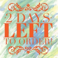 2 Days left in the party! Pampered Chef Party, Pampered Chef Recipes, Body Shop At Home, The Body Shop, Chef Meme, 2 Days Left, Norwex Party, Facebook Party, Thirty One Gifts