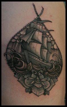 Tattoo | Ship by Mitch Allenden