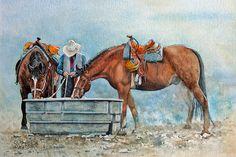 Yellostone horses | Flickr - Photo Sharing!
