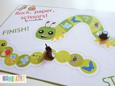 Mambiatka | English for kids | Resources for teachers and parents: BUGS: Rock, paper, scissors!
