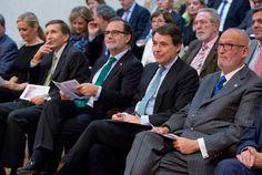 Ignacio González asiste a la apertura del año judicial en la Comunidad de Madrid y visita una exposición sobre los 25 años del TSJM
