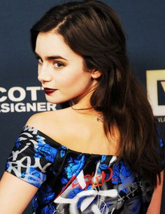 LILY COLLINS - 'JEREMY SCOTT: THE PEOPLE'S DESIGNER' PREMIERE IN HOLLYWOOD, CA 09/08/2015