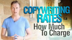 """People are always asking me, """"How much do you charge for your copywriting service?"""" Well, in this video I'm going to answer that question."""