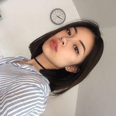 Short hair again? - Short hair again? Trendy Hairstyles, Straight Hairstyles, Girl Hairstyles, Asian Short Hairstyles, Korean Short Hairstyle, Korean Haircut, Asian Bob Haircut, Korean Bangs, Girls Hairdos