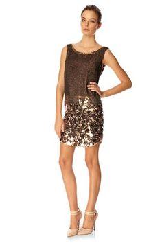 Sparkle Hour Dress, $288, FCUK