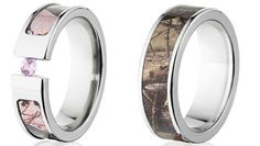 Camo Wedding Bands for Men - Wedding and Bridal Inspiration Camo Wedding Bands, Wedding Tags, Wedding Men, Chic Wedding, Perfect Wedding, Wedding Stuff, Dream Wedding, Camo Rings, Country Style Wedding