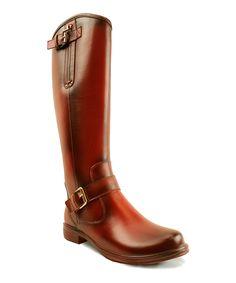 Mi.iM Camel Zip-Buckle Zitas Boot   zulily #streetstyle