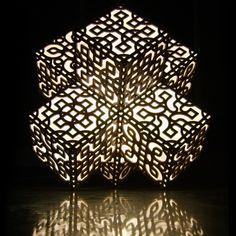 moldes de mdf para lamparas en corte laser - Buscar con Google