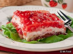 Strawberry Patch Salad   mrfood.com
