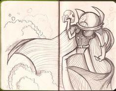 Illustration sketchbook. 2011