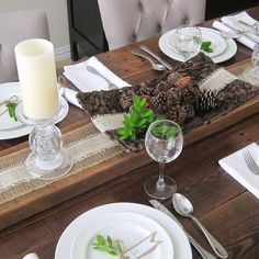 this is happiness: thankful tablescape