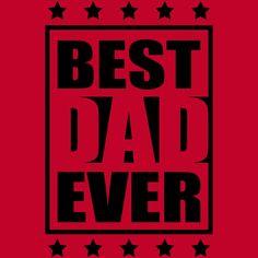 Cool Best Dad Ever Logo-Design