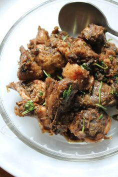 Ginger Pepper Chicken Recipe / Ginger Chicken Recipe
