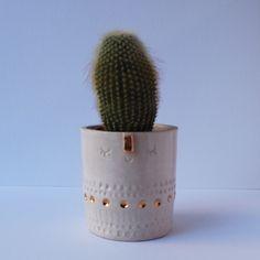 Image of Medium planter pot // gold detail Hygge, Breeze, Planter Pots, January, Colours, Detail, Medium, Gold, Style