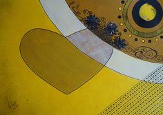 Suco de maracujá - acrílica e nanquim, 594 x 420mm