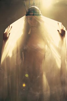☫ A Veiled Tale ☫ wedding, artistic and couture veil inspiration - Ghost Of the Sun by Cristian Fasoli, via Behance
