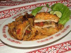 Katalin konyhája: Szatmári tepsis hús