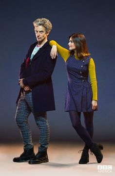 Doctor Who: Peter Capaldi and Jenna Coleman