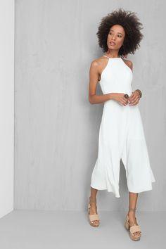 macacao pantacourt - dress to