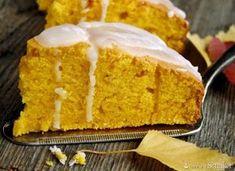 ciasto dyniowe... Cornbread, Vanilla Cake, Food Art, Food And Drink, Baking, Ethnic Recipes, Sweet, Pierogi, Fancy
