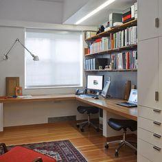 built in desk idea