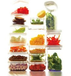 Prep once, eat healthy all week. Includes shopping list and recipes.