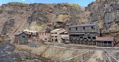 Awesome abandoned mining settlement