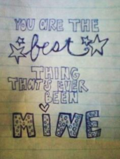 love this Doodle and goes with the song mine by Taylor swift