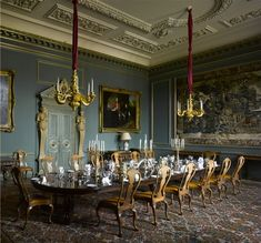 Wilton House. The Family Dining Room