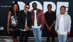 #DOPE -- KeKe Palmer, Chanel Iman, A$AP Rocky, Pharrell, Kiersey Clemons, Tyga + Kylie, Quincy, Diddy, Kim Porter & More Do The Hollywood Premiere