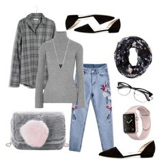 """Untitled #30"" by carolinaang on Polyvore featuring Madewell, Autumn Cashmere, Giorgio Armani, Charlotte Russe and Lana"