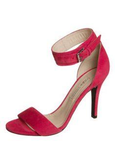 Sandales à talons hauts - rose - 100 €