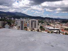 Vista do empreendimento de nosso cliente em Brusque última laje Hotel Innovare - Imobiliaria Moresco