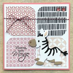 Baby Cards, Kids Cards, Scrapbook Cards, Scrapbooking, Diy And Crafts, Paper Crafts, New Things To Try, Stamping Up Cards, Marianne Design