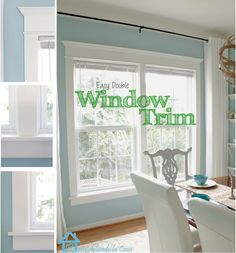 Remodelando la Casa: How to Install Trim on a Double Window. Super good detailed tutorial! Remember this one!