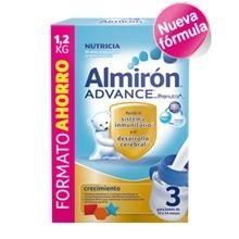Almiron Advance 3.   La más reciente innovación de Almirón, ayuda al sistema inmunitario y al desarrollo cerebral. Contiene Pronutra+, una combinación de Prebióticos patentados.   Para más información, os invitamos a pasar por, www.farmatendencias.com ¡TU FARMACIA ONLINE!