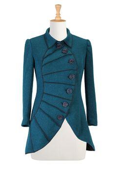 Hermoso abrigo tipo vestidito