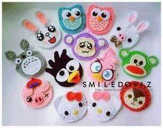 Make your pick Easter Crochet, Crochet Round, Crochet Baby Hats, Love Crochet, Crochet Gifts, Crochet Motif, Crochet Designs, Crochet Toys, Crochet Patterns