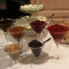 Top your own cheesecake bar