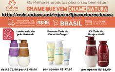 Compare e compre Produtos Natura. A partir de R$ 49,90 http://rede.natura.net/espaco/ljpurocharmebauru Combo pele hidratada >> http://rede.natura.net/espaco/ljpurocharmebauru/combo-tododia-pele-hidratada-pid57102 Presente Flores do Campo >> http://rede.natura.net/espaco/ljpurocharmebauru/presente-natura-tododia-balanco-da-rede-flores-do-campo-desodorante-hidratante-corporal-creme-desodorante-hidratante-gel-hidratante-de-banho-embalagem-pid49136 Kit Cereja e Avelã…