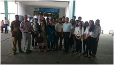 With a view to providing an industry exposure to the students, a visit to Air Cargo, Exports & Imports (Delhi Customs), under Ministry of Finance, Department of Revenue, was organised for the B Sc. Economics (Hons.) students of SOM, on 20th April, 2015.