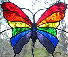 rainbow+butterfly | Rainbow Butterflies Backgrounds Butterfly