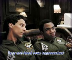 Troy and Abed sewn together!